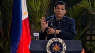 Rodrigo Duterte en una reciente imagen (Foto: AFP).