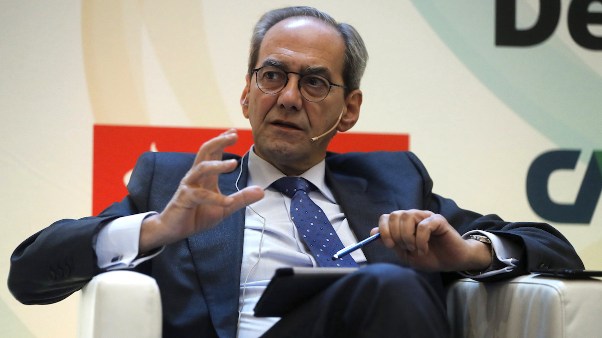 El consejero ejecutivo del Grupo BBVA, José Manuel Gonzalez- Páramo. (Foto: EFE)