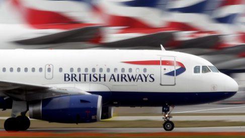 Avión de British Airways. (Foto: Getty)