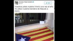 El tuit de Gonzalo Fernández-Castaño.