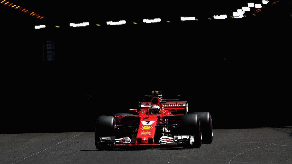 Kimi Raikkonen en el Gran Premio de Mónaco Getty)