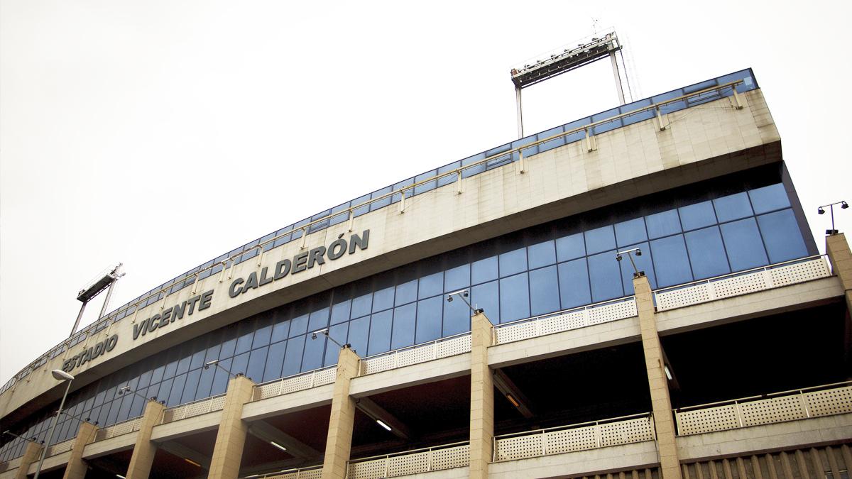Estadio Vicente Calderón. (Foto: Getty)