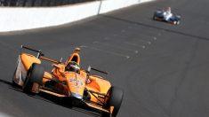 Fernando Alonso, en la Indy 500 (Getty)
