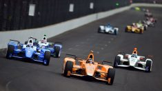 Fernando Alonso en la Indy 500 (Getty)