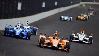 Fernando Alonso en la Indy 500 (Getty)
