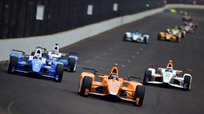 Alonso prueba en un monoplaza IndyCar, un Andretti Autosport, en Barber