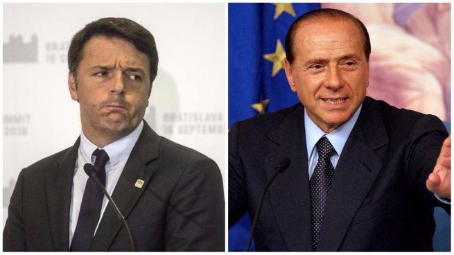 Renzi no descarta pactar un gobierno con Berlusconi tras las elecciones italianas