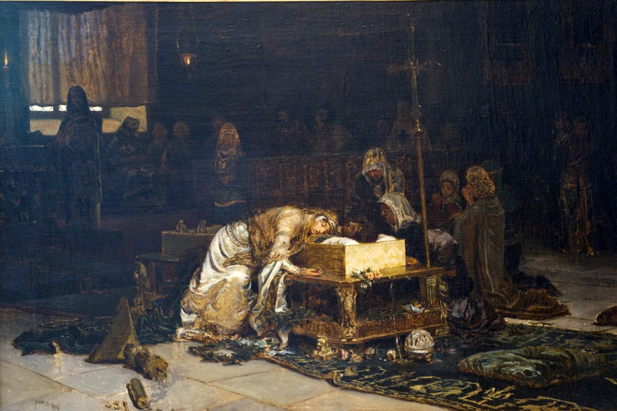 Los amantes de Teruel, separados en vida pero no en la muerte.