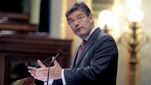 El ministro de Justicia, Rafael Catalá. (Foto: Francisco Toledo)