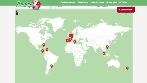 Delegaciones internacionales de Igmasa Management.
