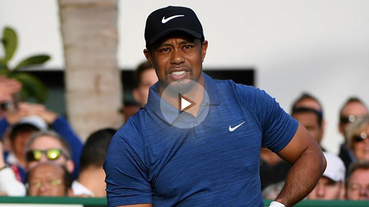 Tiger Woods, detenido por conducir borracho. (Getty)