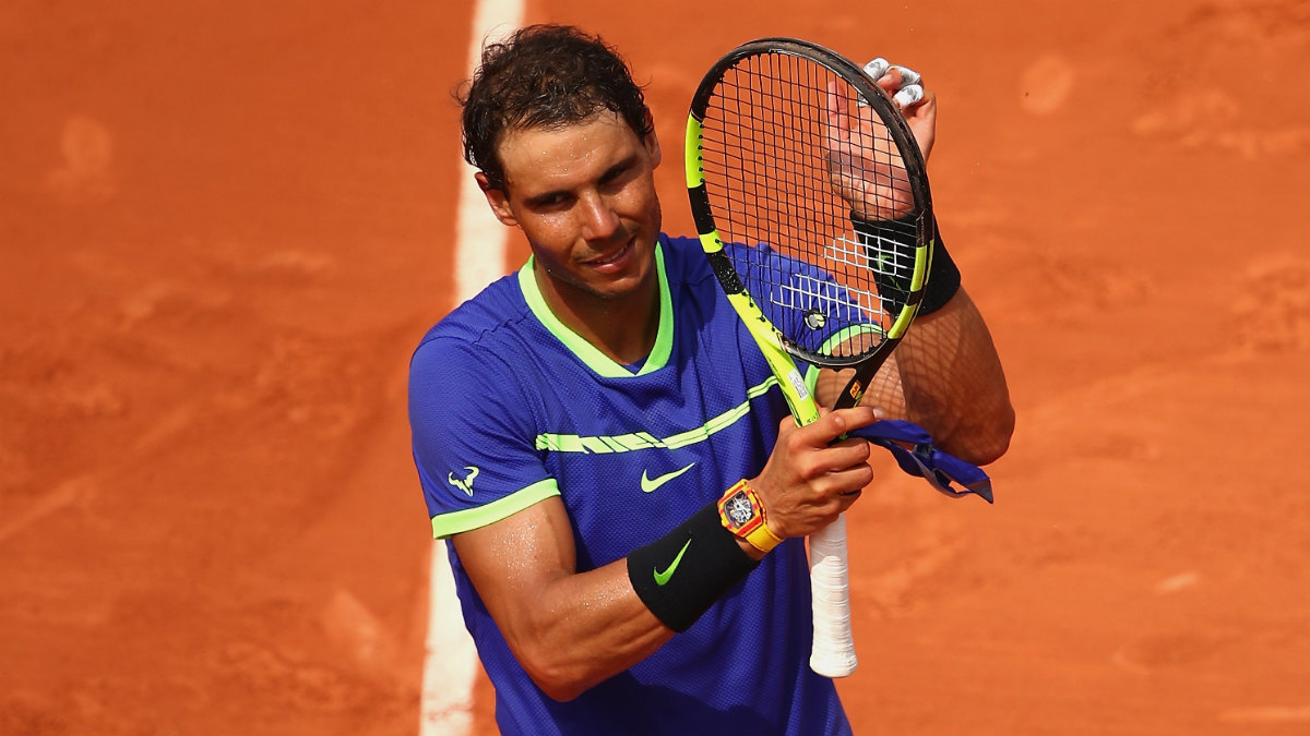 Rafa Nadal arranca con victoria en Roland Garros. (Getty)