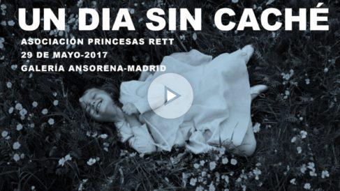 'Un día sin caché' en la galería Ansorena en favor de las afectadas por el síndrome de Rett.