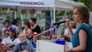 La diputada Tania Sánchez en una imagen de campaña. (Foto: Flickr)
