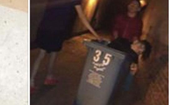 Abandonan a un joven a punto de morir por un coma etílico en un contenedor de basura