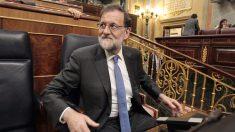 Mariano Rajoy en su escaño del Congreso (Foto: Francisco Toledo)
