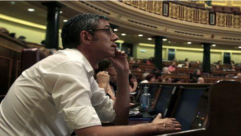 El diputado del PSOE, Eduardo Madina. Foto: Francisco Toledo.