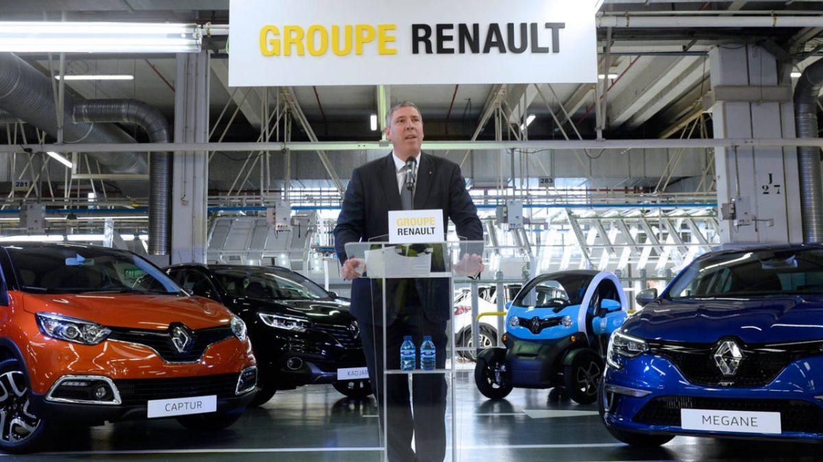 José Vicente de los Mozos, vicepresidente operativo del grupo Renault