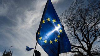 Bandera de la Unión Europea (UE) (Foto: Getty)