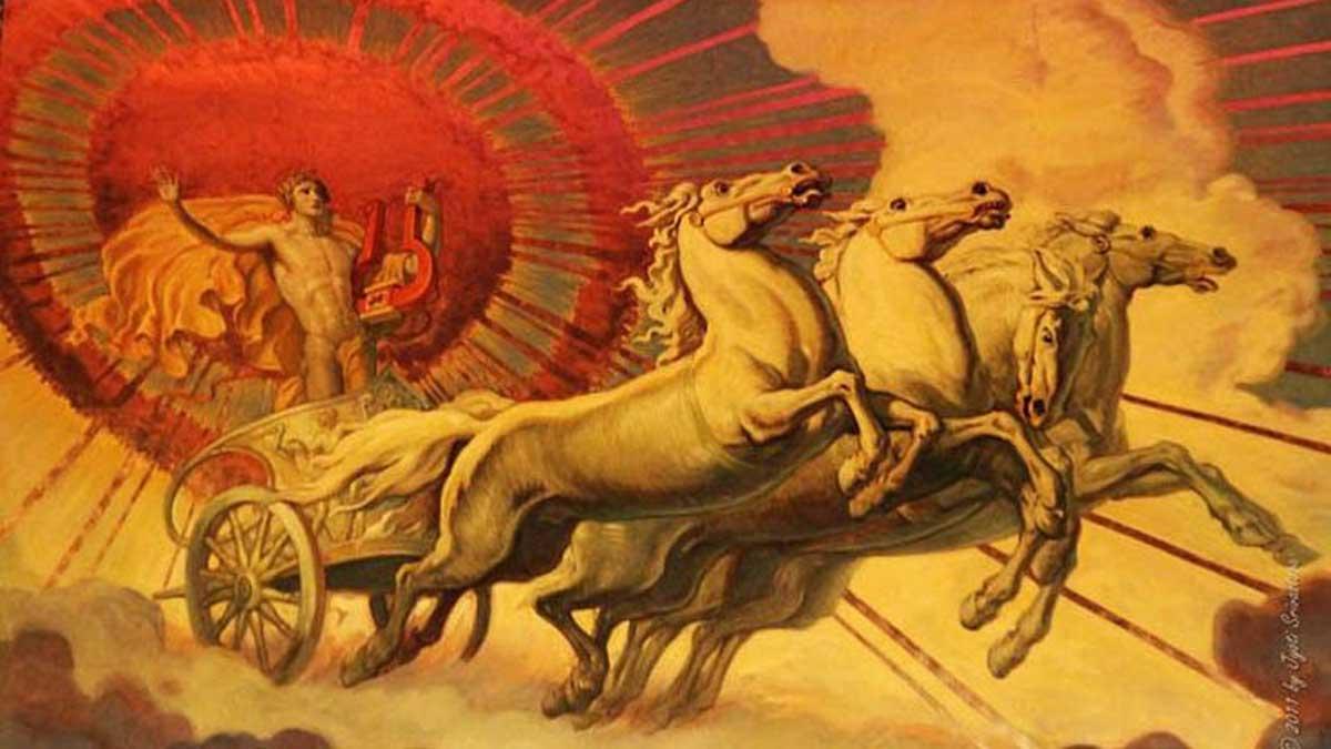 Apolo era el dios del sol en la antigua Grecia
