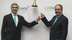 Francisco Reynés y Tobías Martínez, el día de la salida a Bolsa de Cellnex (Foto:Flickr BME)