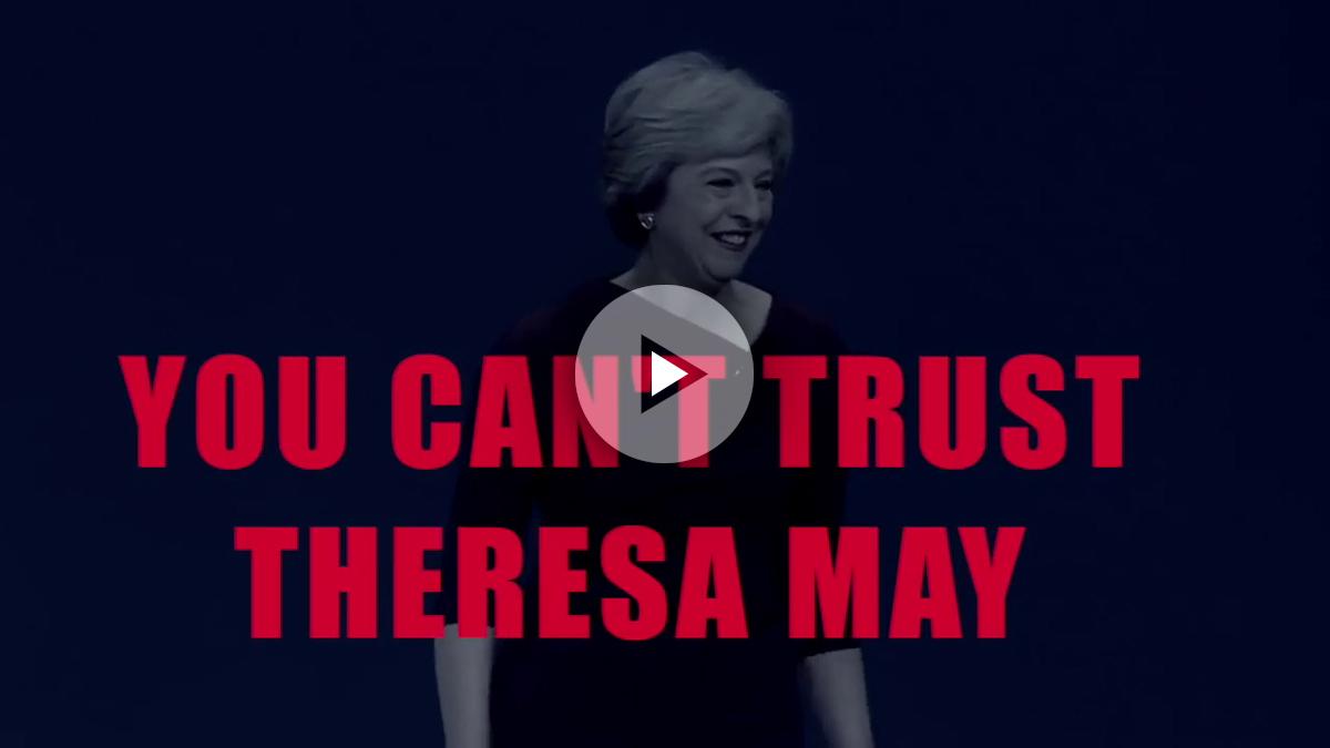 La canción 'Liar liar GE2017' se ríe de Theresa May y la llama «mentirosa».