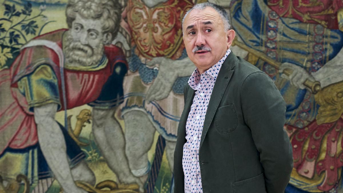 Pepe Álvarez, secretario general de UGT (Foto: Getty)