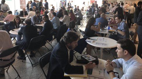 participan en el  Encuentro Comercial Nacional de CEAJE (Foto:CEAJE)