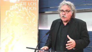 El portavoz de ERC en el Congreso, Joan Tardà. (EFE)