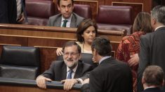 El presidente del Gobierno, Mariano Rajoy, en el Congreso. Foto:Francisco Toledo.