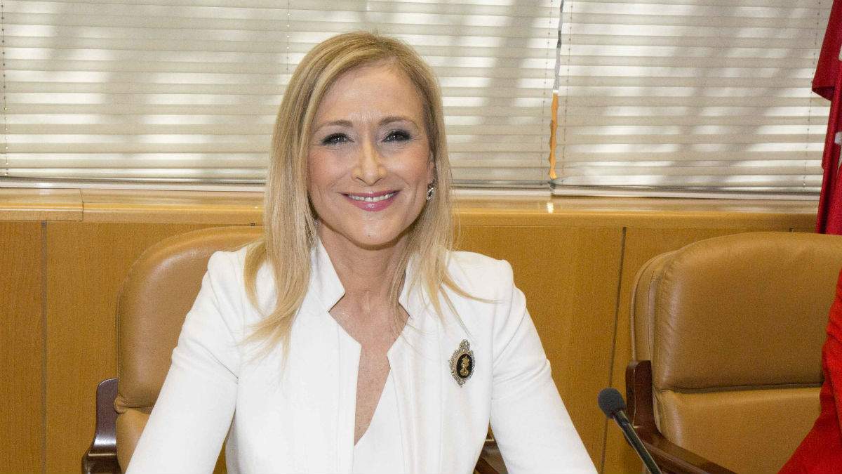 Cristina Cifuentes (PP Madrid/ A.Cuéllar).
