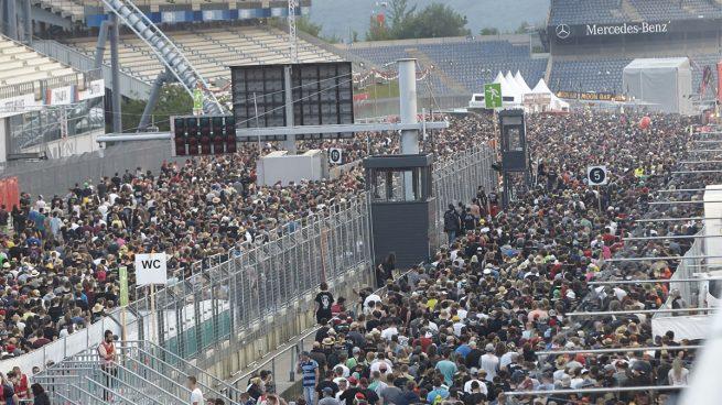 Evacuados los asistentes a un festival de rock en Alemania por «amenaza terrorista»