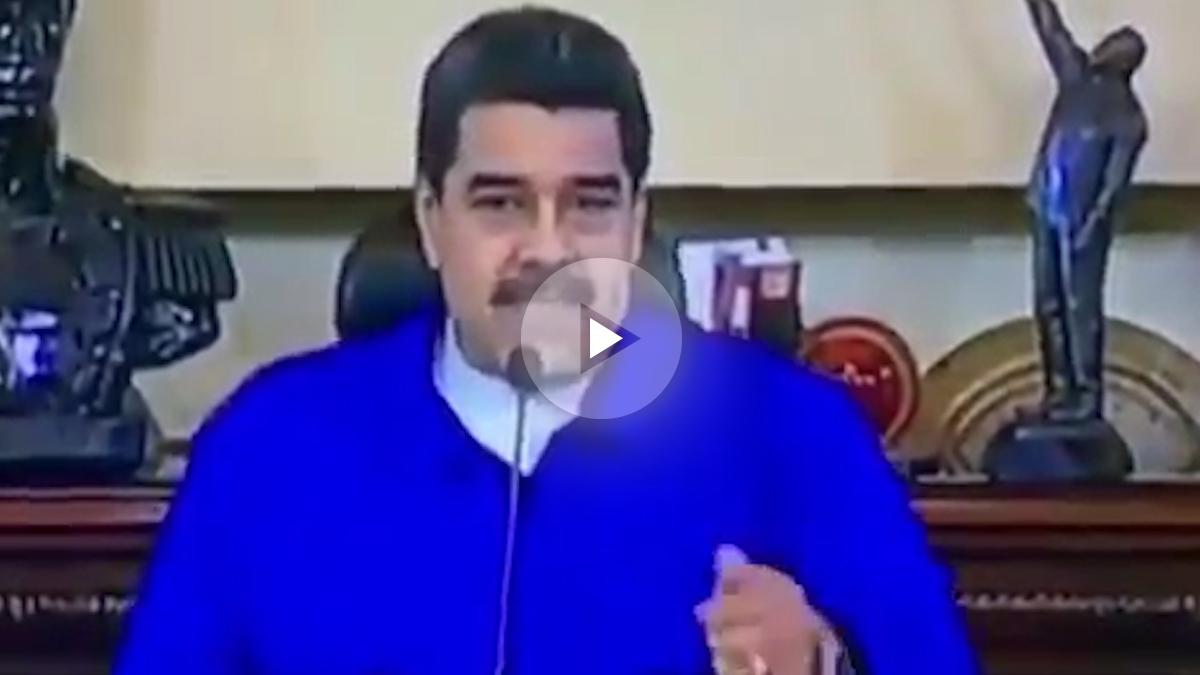 El dictador de Venezuela, Nicolás Maduro, no sabe cuántos son los puntos cardinales.