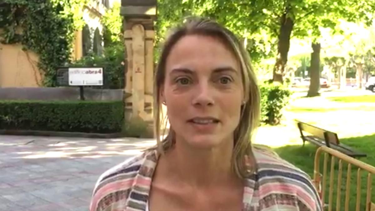 Raquel González, presidenta del PP de Vizcaya
