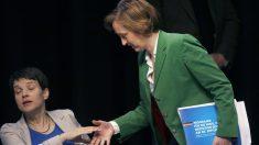 Beatrix Von Storch y la líder de AfD Frauke Petry (Foto: AFP)