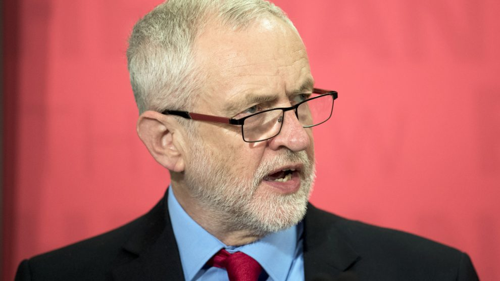 Jeremy Corbyn. (Foto: AFP)