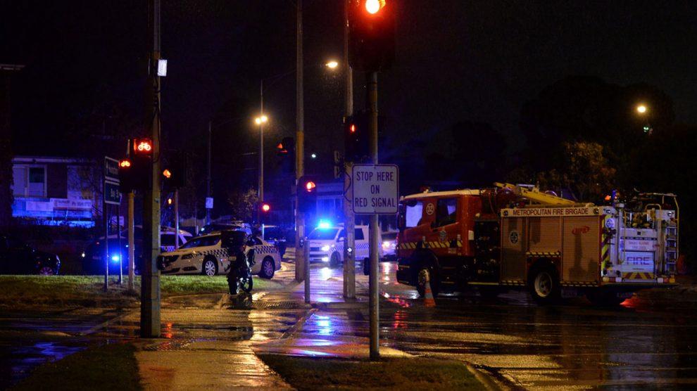 La policía autraliana. (Foto: AFP)