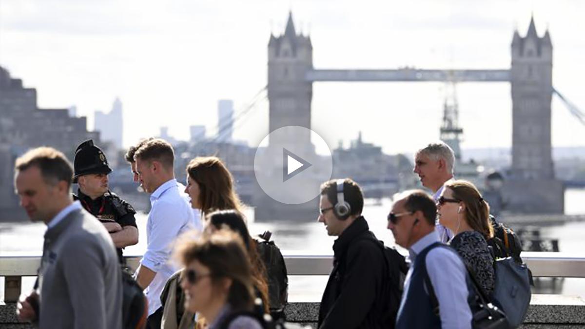 Puente de Londres. (Foto: AFP)