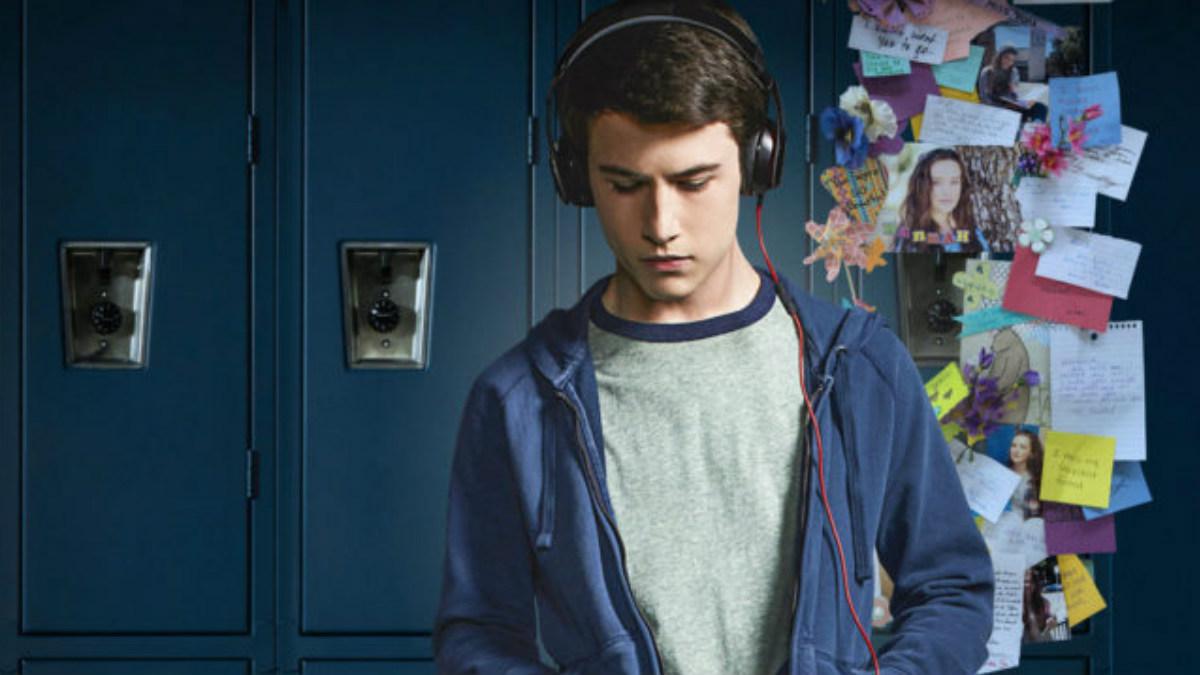 El protagonista de la serie 'por 13 razones' de Netflix.