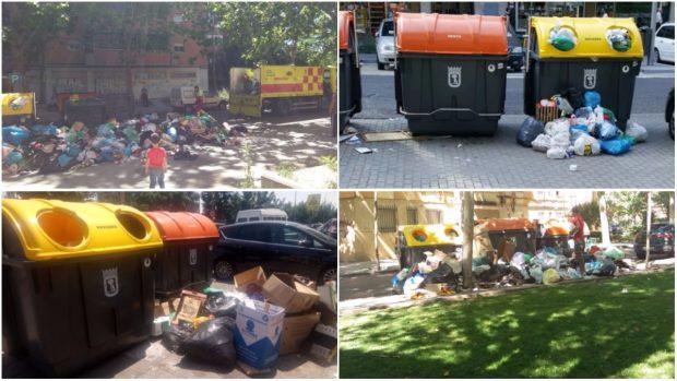 Ahora Madrid culpa a los vecinos de la suciedad y se opone a aumentar la recogida de basura