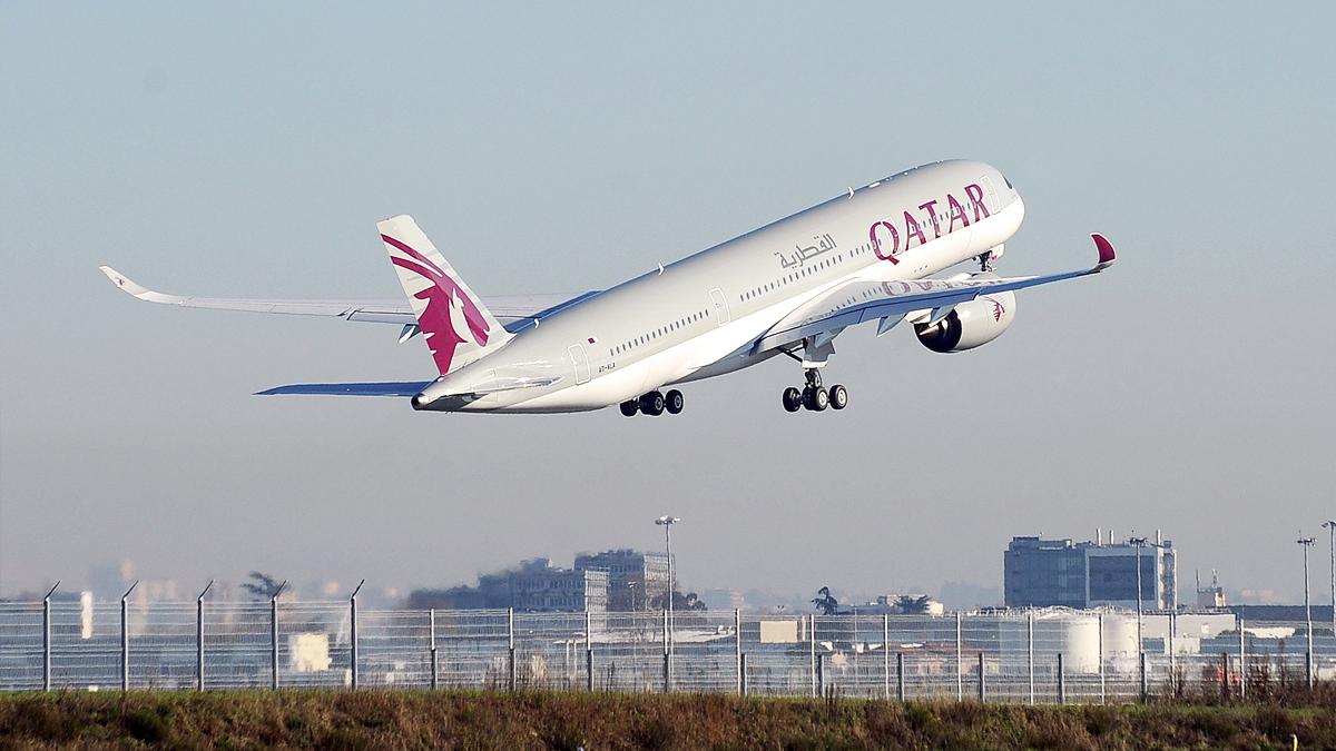 Vuelo de Qatar Airways. (Foto: AFP)