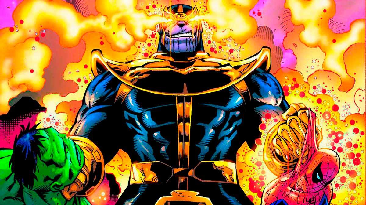 Su poder permite a Thanos enfrentarse a varios superhéroes a la vez