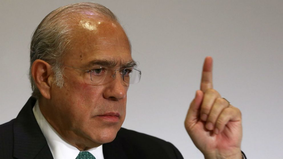 El secretario general de la OCDE, José Ángel Gurria (Foto: GETTY).