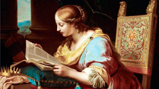 Solo quedan los títulos de los libros que escribió Hipatia