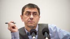 Juan Carlos Monedero. (Foto: AFP)