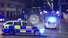 Policía en el London Bridge (Foto: AFP)
