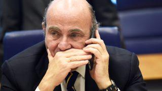 El ministro de Economía, Luis de Guindos. (Foto: AFP)