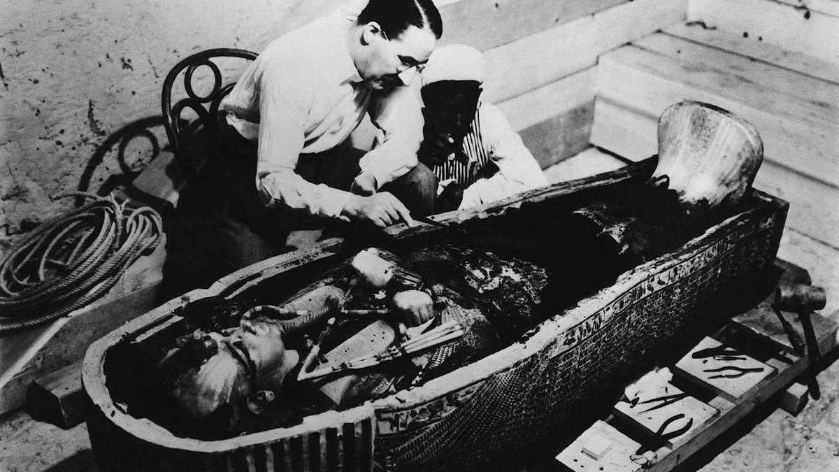 Howard Carter fue el gran descubridor de la tumba de Tutankamón