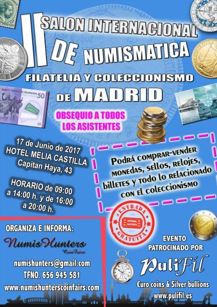 Madrid acogerá por primera vez un salón internacional de numismática, filatelia y coleccionismo