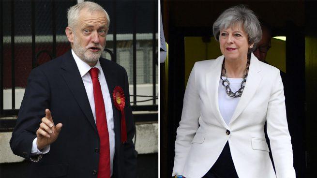 """Corbyn le pide a May que se """"aparte"""" para que los laboristas puedan liderar el Brexit"""